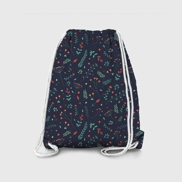 Рюкзак «Травы и цветы»