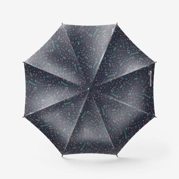 Зонт «Травы и цветы»