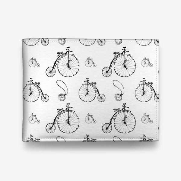 Кошелек «Ретро велосипеды»