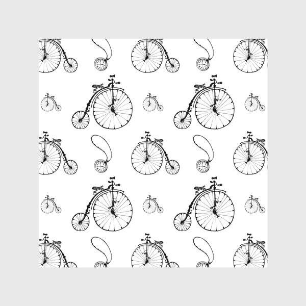 Шторы «Ретро велосипеды»