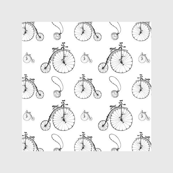 Скатерть «Ретро велосипеды»
