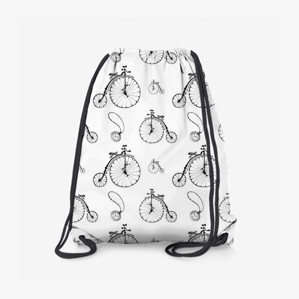 Рюкзак «Ретро велосипеды»