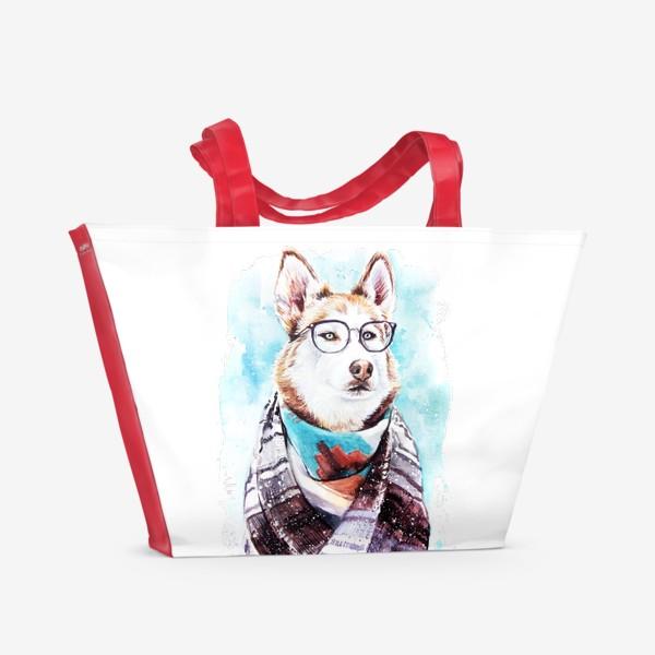 Пляжная сумка «Хаски»