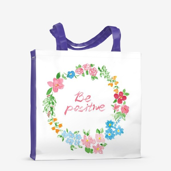 Сумка-шоппер «Be Positive»