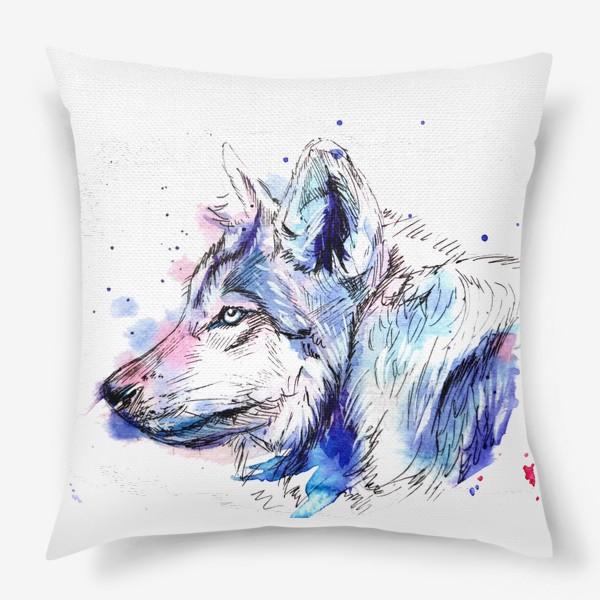 Подушка «Волк»