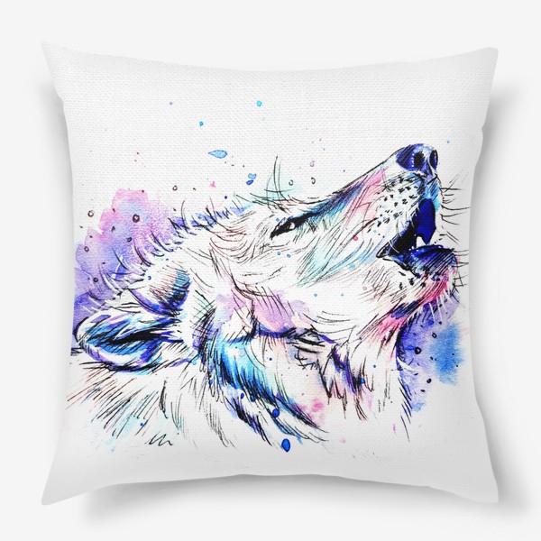 Подушка «Волчица»