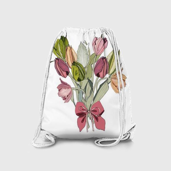 Рюкзак «букет для любимой»