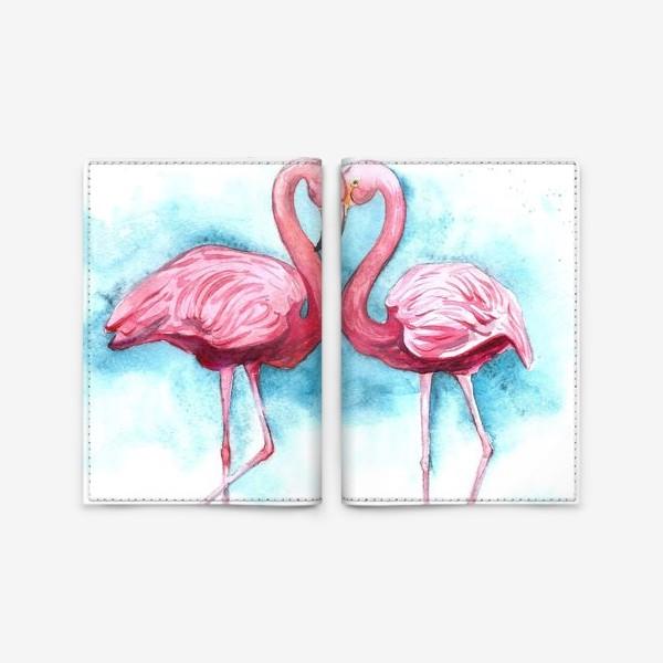 Обложка для паспорта «счастье невозможно без любви»
