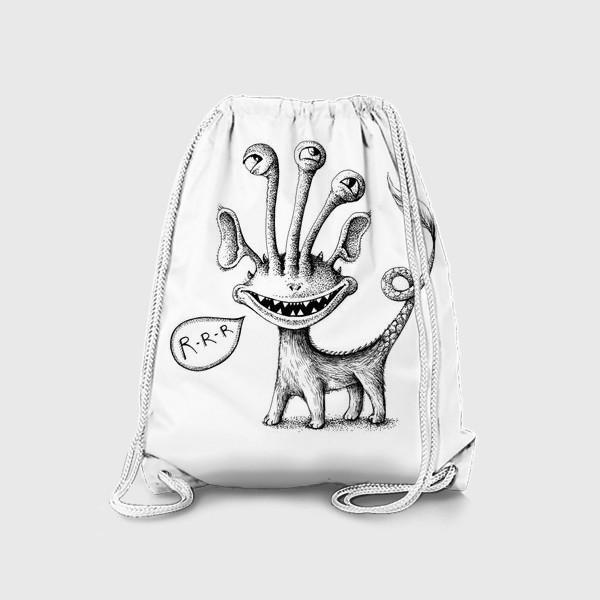 Рюкзак «Рычащий монстрик»