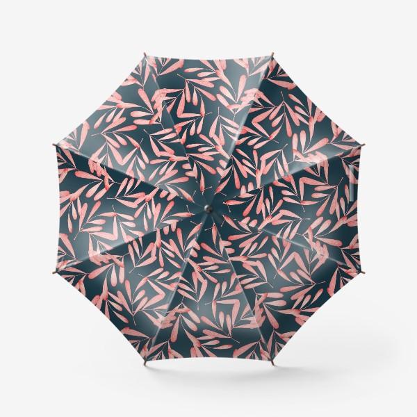 Зонт «Красные листья»