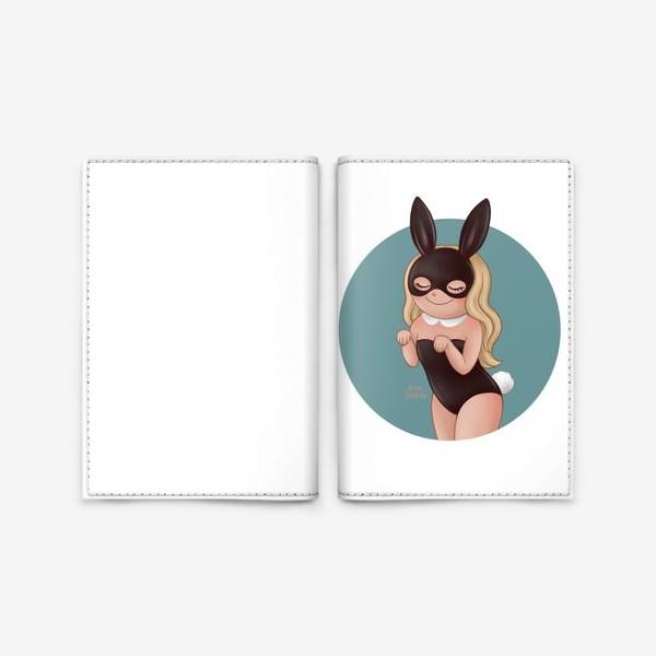 Обложка для паспорта «Зайка плейбой»