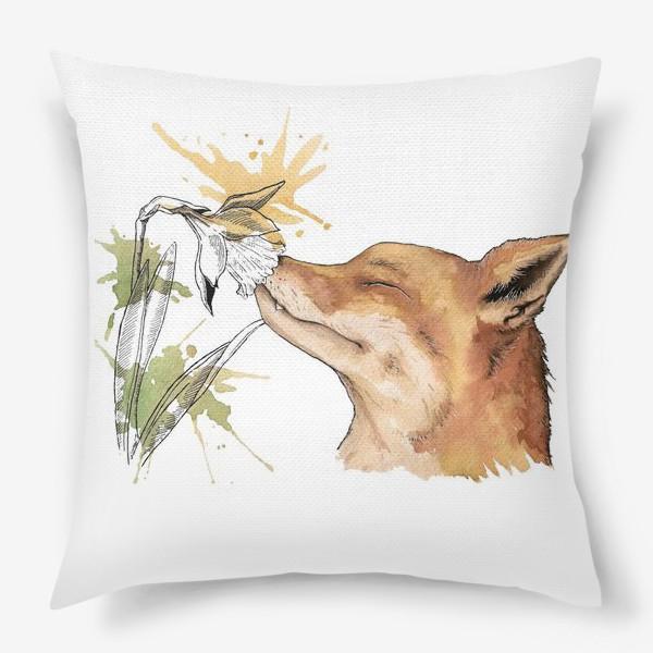 Подушка «Лис»
