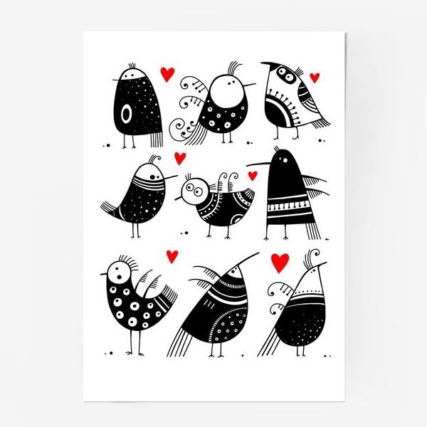 Постер «Птицы*6»
