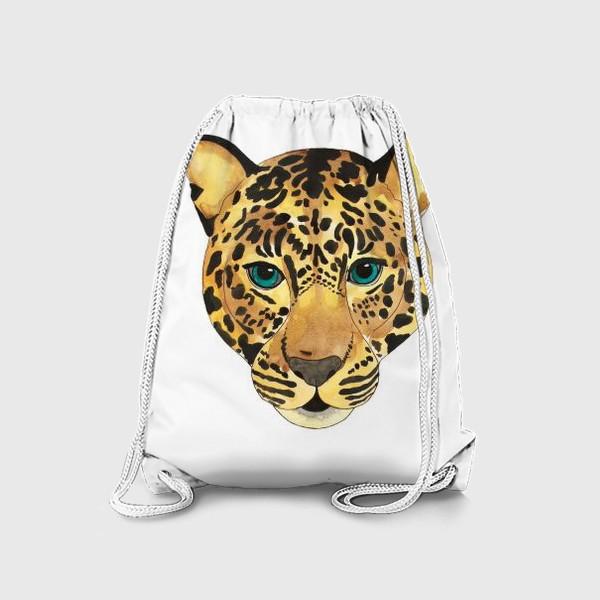 Рюкзак «Морда леопарда»