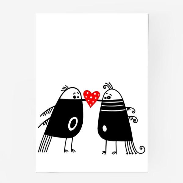 Постер «Птицы*12»