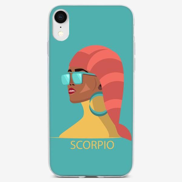 Чехол iPhone «Знаки зодиака. Скорпион»
