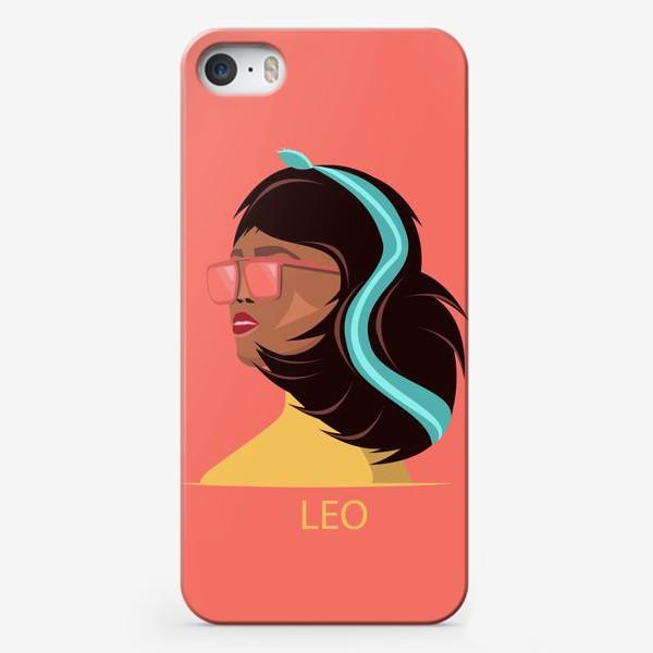 Чехол iPhone «Знаки зодиака. Лев»