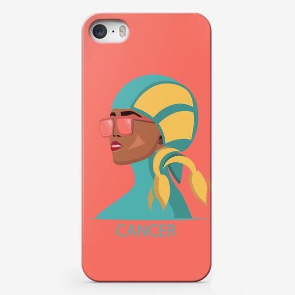 Чехол iPhone «Знаки зодиака. Рак»