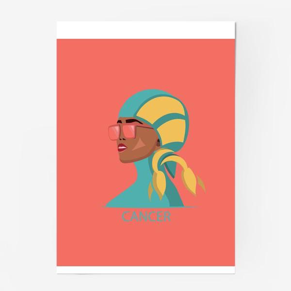 Постер «Знаки зодиака. Рак»