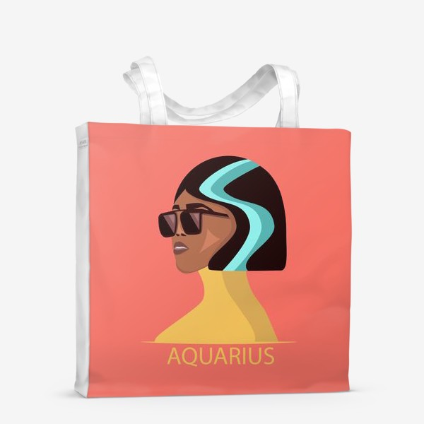 Сумка-шоппер «Знаки зодиака. Водолей»