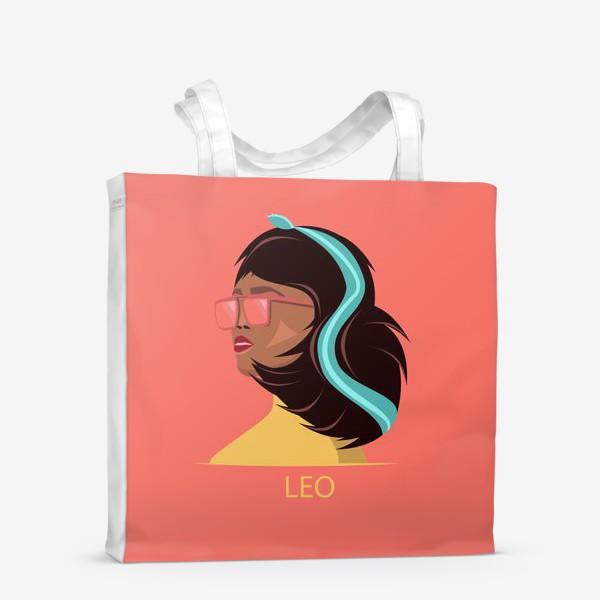Сумка-шоппер «Знаки зодиака. Лев»