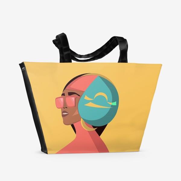 Пляжная сумка «Знаки зодиака. Весы»