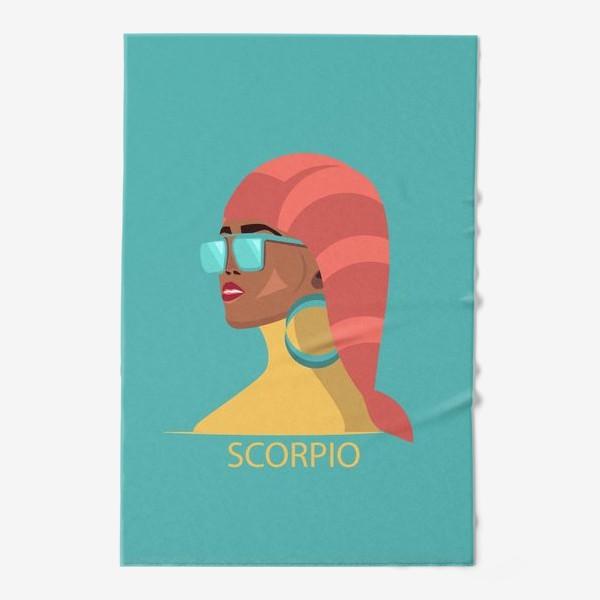 Полотенце «Знаки зодиака. Скорпион»