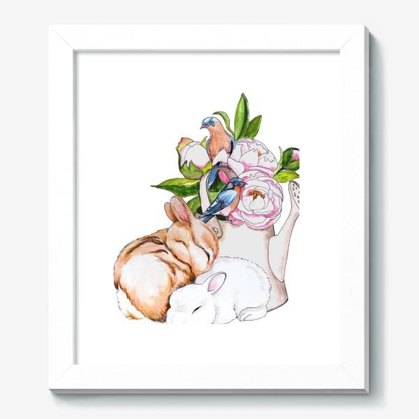 Картина «Нежные объятия»