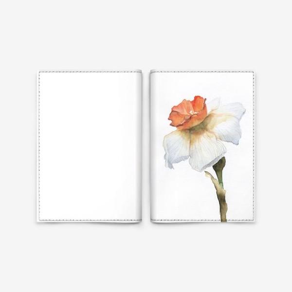 Обложка для паспорта «Прекрасный нарцисс»