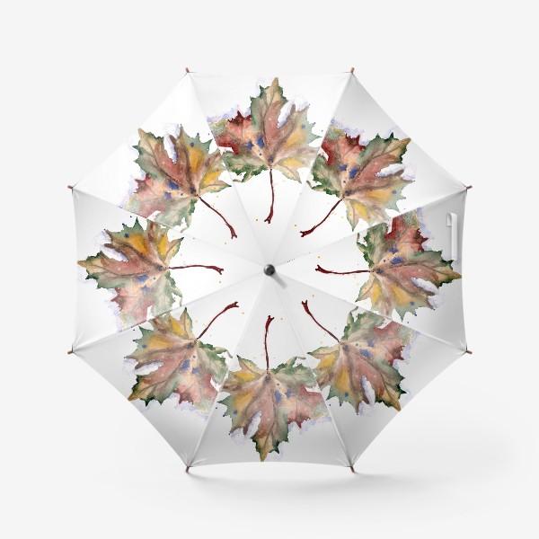 Зонт «Лист кленовый»