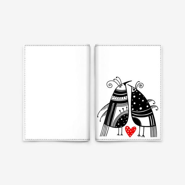 Обложка для паспорта «Птицы*14»