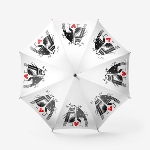 Зонт «Птицы*14»