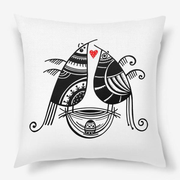 Подушка «Птицы*9»
