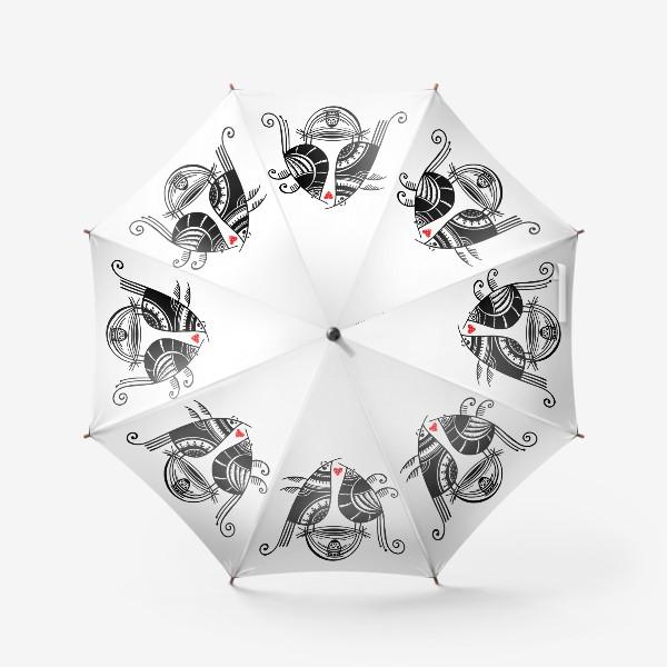 Зонт «Птицы*9»