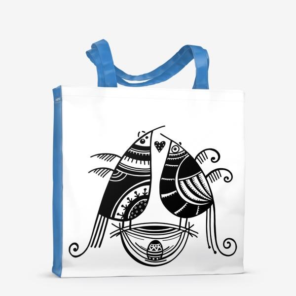 Сумка-шоппер «Птицы*8»