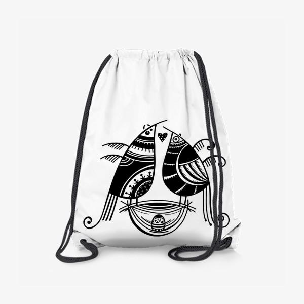 Рюкзак «Птицы*8»