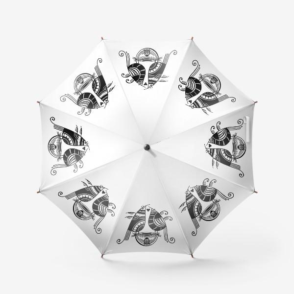 Зонт «Птицы*8»