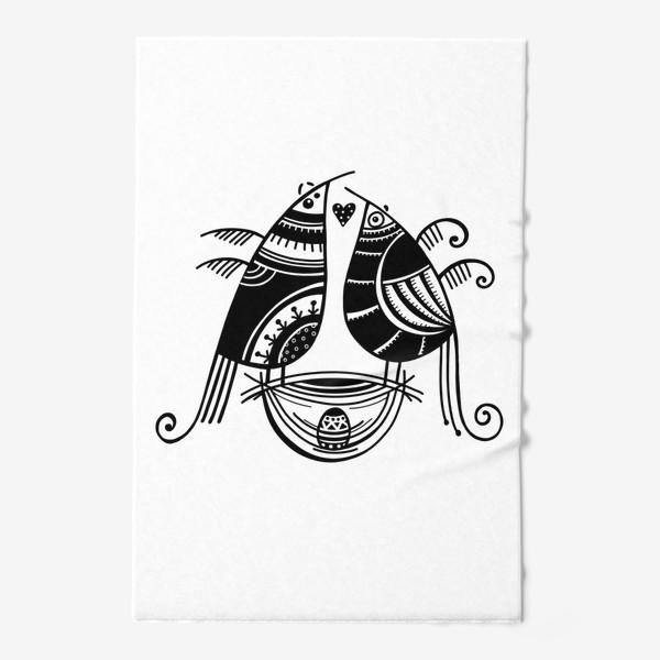 Полотенце «Птицы*8»