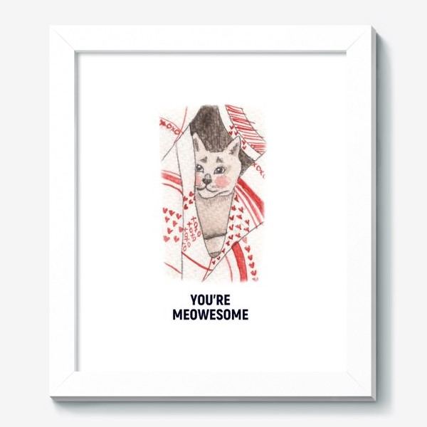 Картина «You're meowesome »