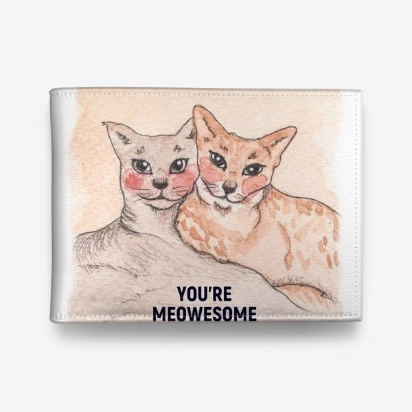 Кошелек «you're meowesome»