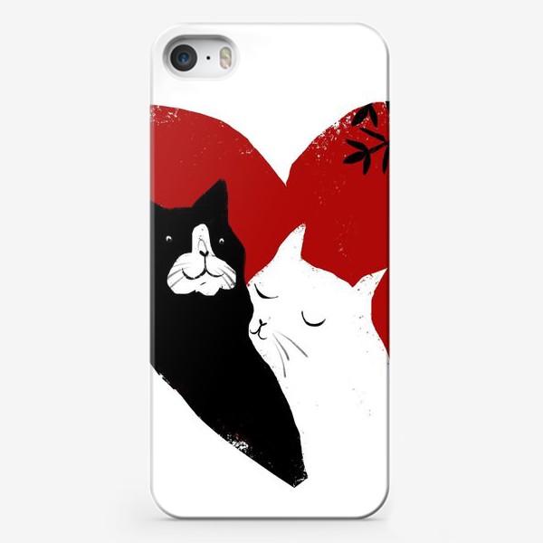 Чехол iPhone «Котики»