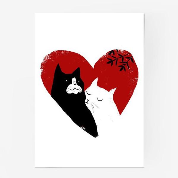 Постер «Котики»