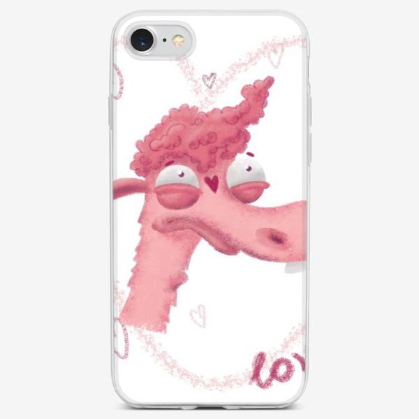 Чехол iPhone «LamaLove»