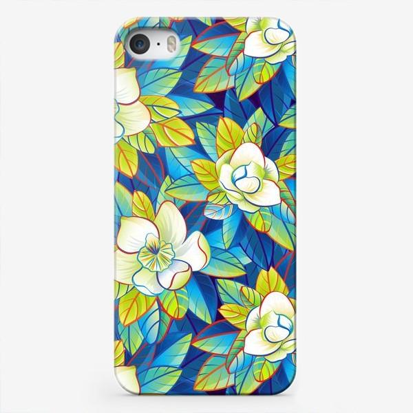 Чехол iPhone «Тропические магнолии»