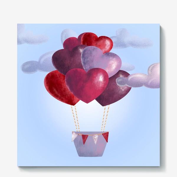 Холст «Романтика в облаках»