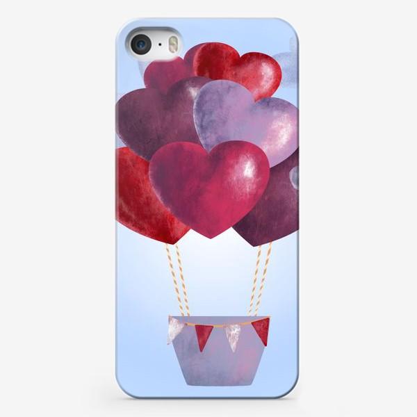 Чехол iPhone «Романтика в облаках»