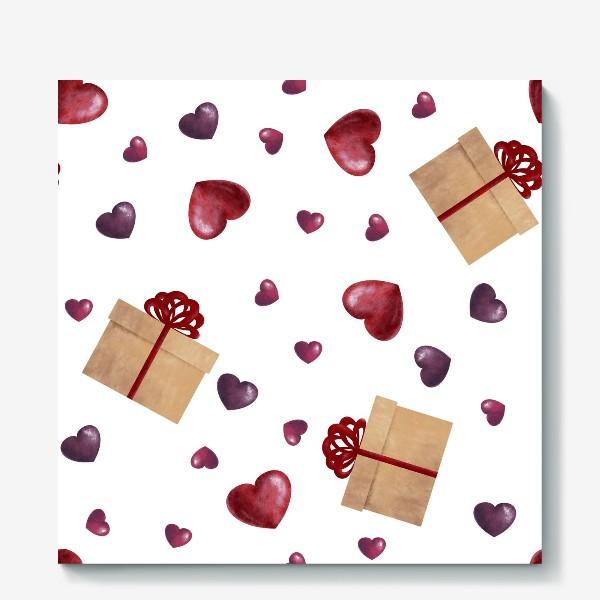 Холст «Сердечный подарок»
