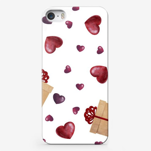 Чехол iPhone «Сердечный подарок»