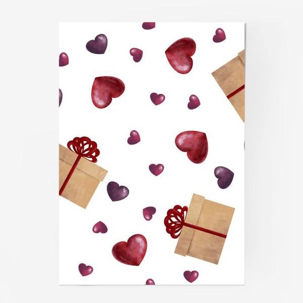 Постер «Сердечный подарок»