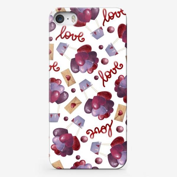 Чехол iPhone «Сердечное поздравление»